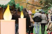 снимка 13 Коледният дух завладява София въпреки пандемията (Снимки)