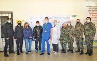 Нова група военнослужещи ще помагат в борбата с коронавируса