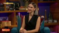 Актрисата Мария Бакалова с първо самостоятелно интервю за вечерно шоу в САЩ