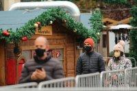 снимка 24 Коледният дух завладява София въпреки пандемията (Снимки)