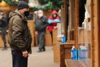снимка 14 Коледният дух завладява София въпреки пандемията (Снимки)