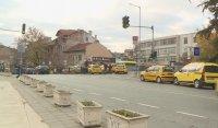 Такситата в Благоевград с ограничен достъп до стоянките