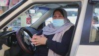 Само една жена е шофьор на такси в ивицата Газа