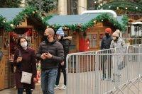снимка 5 Коледният дух завладява София въпреки пандемията (Снимки)