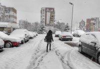 снимка 8 Първи сняг в София (Снимки)