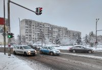 снимка 7 Първи сняг в София (Снимки)