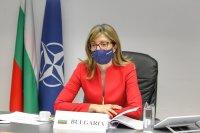Екатерина Захариева подчерта нарастващото значение на НАТО за Черноморския регион
