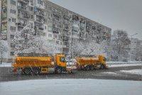 снимка 2 Първи сняг в София (Снимки)