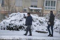 снимка 6 Първи сняг в София (Снимки)