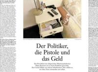 """""""Политикът, пистолетът и парите"""" - премиерът Борисов с интервю за """"Франкфуртер Алгемайне Цайтунг"""""""