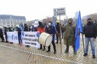 Втори протест на полицаите - настояват за 30% по-високи заплати (ОБЗОР)