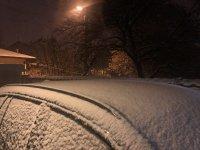 снимка 9 Първи сняг в София (Снимки)