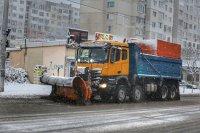 снимка 4 Първи сняг в София (Снимки)