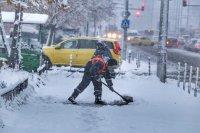 снимка 1 Първи сняг в София (Снимки)