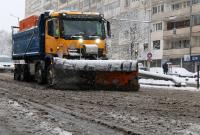150 снегорина почистваха столицата при първия сняг