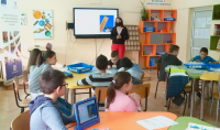 """Пловдивско училище повишава дигиталните умения по проект """"Образование за утрешния ден"""""""