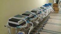 Дариха апарати за обдишване и 100 000 маски на три болници в Пловдив