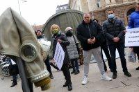 снимка 3 Протест срещу мръсния въздух в София