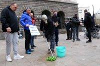 снимка 2 Протест срещу мръсния въздух в София