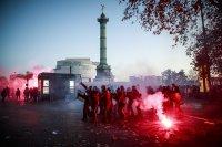 Нови сблъсъци в Париж заради протеста срещу закона за сигурността