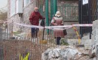Свлачище в Асеновград разруши улица и стигна до прага на къщите