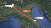 След семеен скандал: Мъж излезе да се разходи и измина 450 км