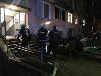 Пожар в жилищен блок в Казанлък
