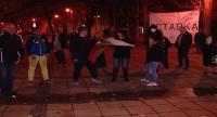 Протестиращи се събраха и във Варна