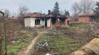 Пожар остави без дом семейство с две деца от Българене