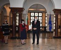 снимка 1 Гешев награди прокурори от ВКП за образцово изпълнение на служебните задължения