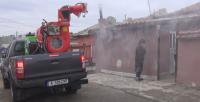 Мащабна дезинфекция на всички обществени места в Бургас