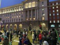 159-и протест срещу правителството - блокираха движението пред МС