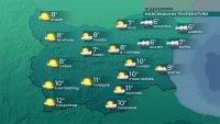 Вятърът в Източна България отслабва, температурите ще са между 6 и 11 градуса