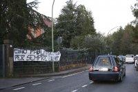 Обраха дома на Паоло Роси по време на погребението му