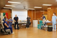 снимка 1 Проф. Мутафчийски е първият ваксиниран срещу COVID-19 медик от ВМА