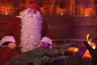 Дядо Коледа пожела на всички здраве и потегли с шейната