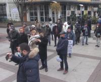 Представители на блокирани бизнеси на протест за връщане в работен режим