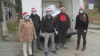 Дариха ново спално бельо за Ковид болницата в Благоевград