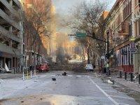 Въведоха комендантски час в района на експлозията в Нашвил