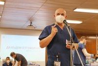снимка 5 Проф. Мутафчийски е първият ваксиниран срещу COVID-19 медик от ВМА