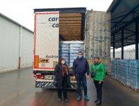 В Хърватия пристигна първият тир с минерална вода от България