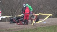 В тежки условия осем спасители свалиха тялото на загиналия в Стара планина турист (Обзор)