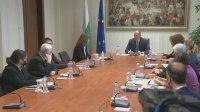 Продължават консултациите при президента за провеждане на прозрачен изборен процес