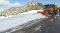 Сняг и минусови температури в Мароко