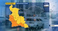 Предупреждение за значителни валежи този следобед