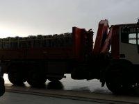 """снимка 1 Камиони докараха част от хуманитарната помощ за Хърватия на авиобаза """"Враждебна"""" (Видео, снимки)"""
