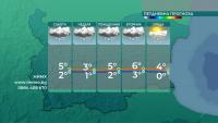 В Северозападна България ще продължи да вали сняг през нощта