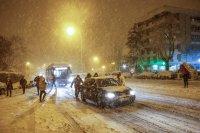 Испания е в капана на снежната буря Филомена