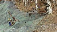 АПИ: Предотвратен е много по-голям срутищен процес на пътя за Рилския манастир