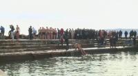 Заради фалстарт: Хвърлиха два пъти кръста в морето край Варна